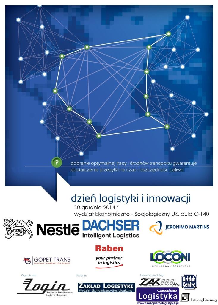 Dzień logistyki projekt plakatu