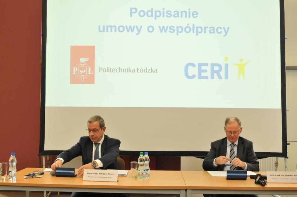 Umowa PŁ_CERI International_foto Jacek Szabela_PŁ-1