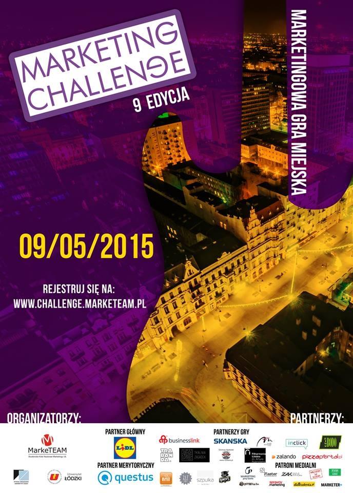 Plakat Marketing Challenge